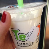 Photo taken at Tea One - Bubble Tea by Angelina P. on 4/13/2013