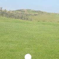 Photo taken at Noordwijkse Golfclub by Lot K. on 5/18/2014