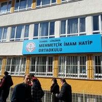 Photo taken at Mehmetçik İmam Hatip Ortaokulu by Ahmet D. on 3/30/2014