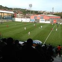 Photo taken at Yusuf Ziya Öniş Stadyumu by Federico A. on 4/21/2013