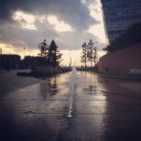 Photo taken at Liverpool Hilton Executive Lounge by zanna A. on 3/15/2014