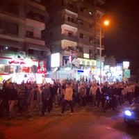 Photo taken at El Arish St by zanna A. on 1/12/2014