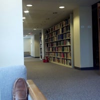 Photo taken at Rolvaag Memorial Library by Brian C. on 1/28/2013