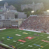 Photo taken at Percival Molson Memorial Stadium by Michael P. on 8/9/2013