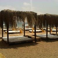 Photo taken at Zuga Beach Club by 🅰lphan . on 6/28/2013