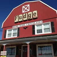Photo taken at The Fudge Shoppe by Michael C. on 3/30/2013