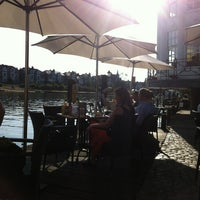 Photo taken at The Riverside Terrace by Alex C. on 7/6/2013