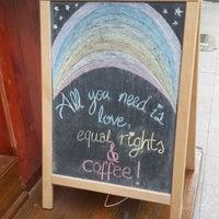 3/1/2015 tarihinde Esra C.ziyaretçi tarafından Cherrybean Coffees'de çekilen fotoğraf
