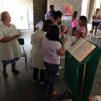 Photo taken at Comunidade N. Sra. Glória - Pomares by Cassio C. on 3/9/2014