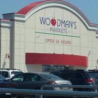 Photo taken at Woodman's Food Market by Missy G. on 7/6/2013
