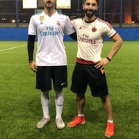 Photo taken at ملعب جمعية المهندسين ( Corner) by Mobarak M. on 3/6/2018