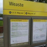 Photo taken at Weaste Metrolink Station by Pierre B. on 5/12/2013