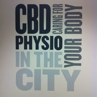 Photo taken at CBD Physiotherapy by Sue T. on 7/16/2013