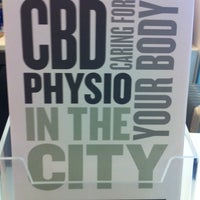 Photo taken at CBD Physiotherapy by Sue T. on 12/3/2013