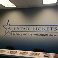 Photo taken at All Star Tickets by Ryan L. on 6/5/2013