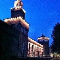 Foto scattata a Castello Sforzesco da Simon il 6/7/2013