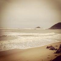 Photo taken at Praia do Sonho by Eduardo M. on 10/12/2012