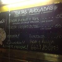 Photo taken at El Habanero Tortas Ahogadas by Memo A. on 5/24/2013