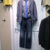 Photo taken at Men's Wearhouse by MONTGOMMERY M. on 2/18/2013