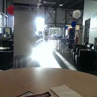Photo taken at Rick Case Hyundai by MONTGOMMERY M. on 9/20/2013