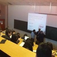 Photo taken at Facultad De Ciencias Económicas Y Empresariales by Alex F. on 11/29/2013