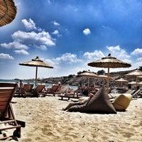 Photo taken at Punda Beach Club by Bige A. on 7/6/2013