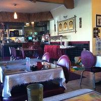 Photo taken at Queen Sheba Ethopian Restaurant by Rachel O. on 2/10/2013