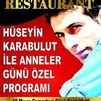 Photo taken at Tanrıseven Restaurant by Ferda T. on 5/9/2014