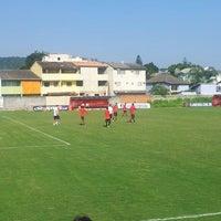 Photo taken at Ninho do Urubu (CT do Flamengo) by Diego L. on 2/15/2013