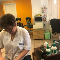 Photo taken at Diana Hair & Nail Salon by .. B. on 7/27/2018