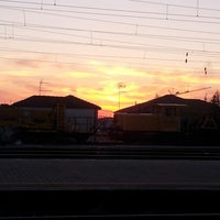 Photo taken at Stazione Rovigo by Nausicaa B. on 4/13/2013