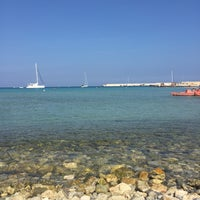 Photo taken at Lido di Otranto by Eliçe K. on 9/16/2016
