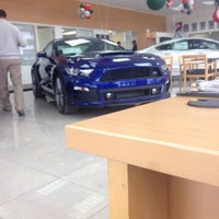 Photo taken at Currie Motors Ford of Frankfort by bartend4fun on 1/4/2016