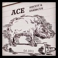 10/30/2012에 Todd W.님이 Ace Biscuit & Barbecue에서 찍은 사진