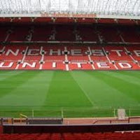 Photo taken at Old Trafford by Yassine C. on 3/6/2013