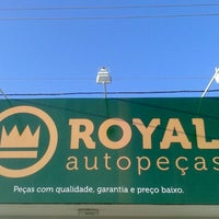 Photo taken at Royal Auto Peças by Vicente M. on 12/18/2013