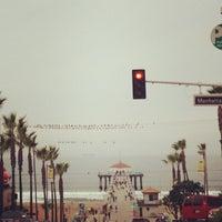 Photo taken at Manhattan Beach Pier by 👸 Michele T. on 12/25/2012