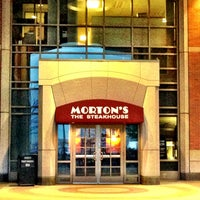 Photo taken at Mortons Steakhouse Seaport Boston by Larry T. on 5/9/2013