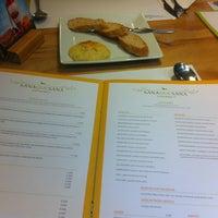 Photo taken at SanaQueSana Gourmet by Lina J. on 10/18/2012