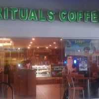 Photo taken at Rituals Coffee House - Valpark by Goliath T. on 5/3/2012
