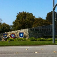 Photo taken at Vandenberg Air Force Base by Patrick M. on 4/9/2012