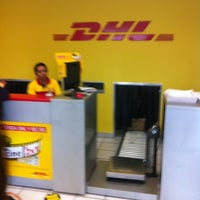 Photo taken at DHL Express by Antonio A. on 4/18/2012