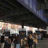 Photo taken at New Amsterdam Market by Lockhart S. on 10/28/2012