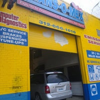 Photo taken at Trans-O-Mex Transmissions & Complete Auto Repair by Anthony M. on 6/11/2012