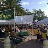 Photo taken at West Palm Beach Green Market by a Guy on Clematis on 3/10/2012