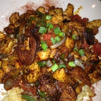 Photo taken at BJ's Restaurant and Brewhouse by Abby G. on 5/13/2012