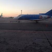 Photo taken at Злітно-посадкова смуга аеропорту Дніпро by David B. on 6/10/2014