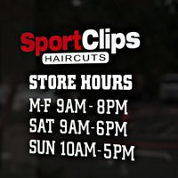 Photo taken at Sports Clips Haircuts by Sport Clips Southern California on 11/6/2013