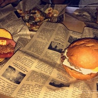 Photo taken at way back burgers by Majid A. on 2/22/2018