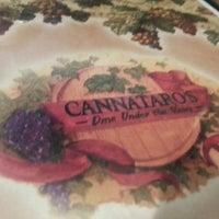 Photo taken at Cannataro's Italian Restaurant by Karl S. on 10/5/2014